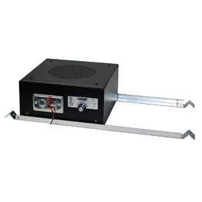 "Lowell SM820A-BR  8"" Masking Speaker w/ Bridge Rails, 50w, 70v SM820A-BR"