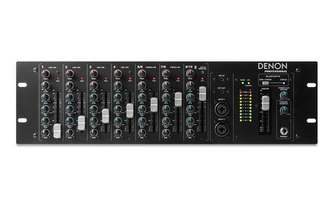 Denon DN-410X  10-Channel Rackmount Mixer with Bluetooth DN-410X