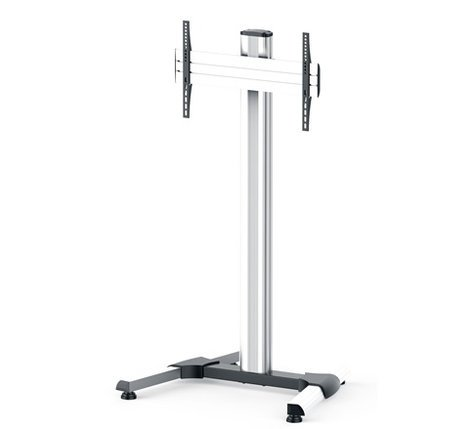 Middle Atlantic Products DS-600SL-AL DispalyStation Stand with 600VESA, Single Display Mount and Levelers, ALU DS-600SL-AL