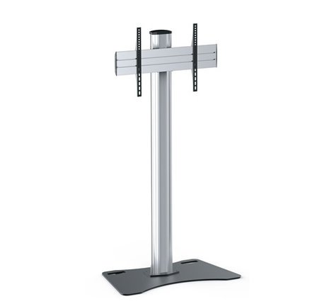 Middle Atlantic Products DS-600SP-AL DisplayStation Stand with 600VESA, Single Display Mounting and Locking Plates, ALU DS-600SP-AL
