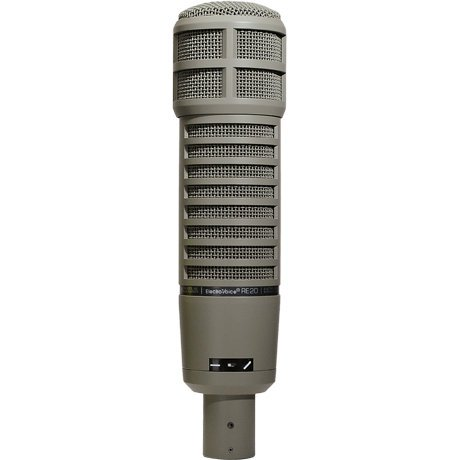 Electro-Voice RE20 Broadcast Announcer Microphone w/ Variable-D RE20