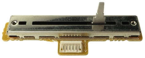 Pioneer DWG1519  Crossfader Assembly with PCB for DJM-600 DWG1519