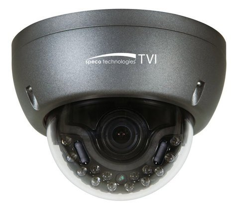 Speco Technologies Intense IR HD-TVI 1080p 2MP Indoor/Outdoor Dome Camera with 3.6 mm Fixed Lens HT5941T