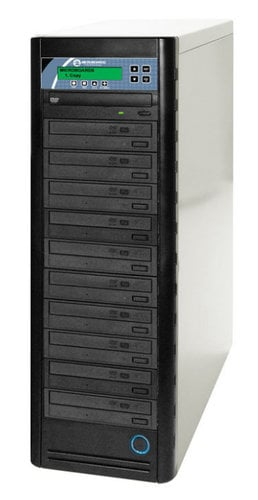 Microboards NT-BDPRV3-07 Networkable CopyWriter Pro CD DVD Blu-ray 1-to-7 Tower Duplicator NT-BDPRV3-07