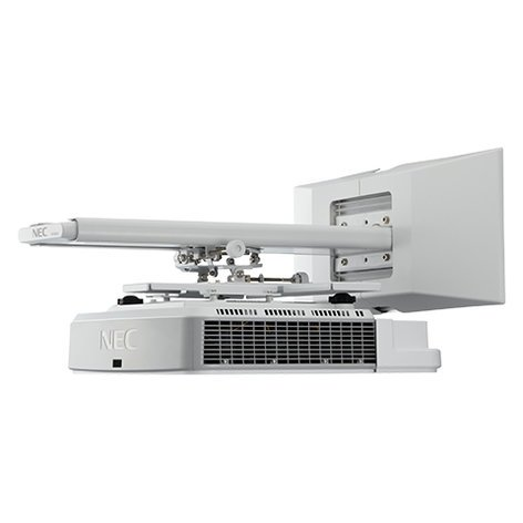 NEC NP-U321H-WK  3200 Lumen Widescreen Ultra-Short Throw Projector with Wall Mount NP-U321H-WK