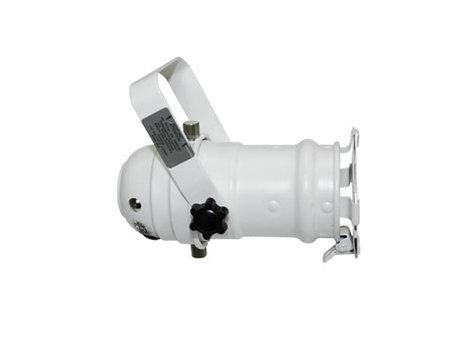 Odyssey LSPAR16W PAR 16 White Aluminum Light Fixture LSPAR16W