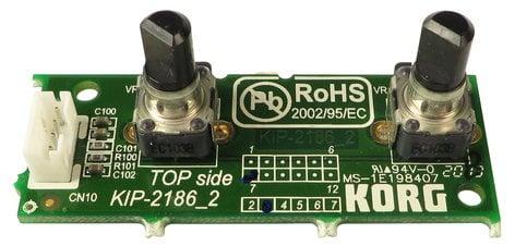 Korg GRA0002186 Volume/Balance PCB Assembly for PA600 GRA0002186
