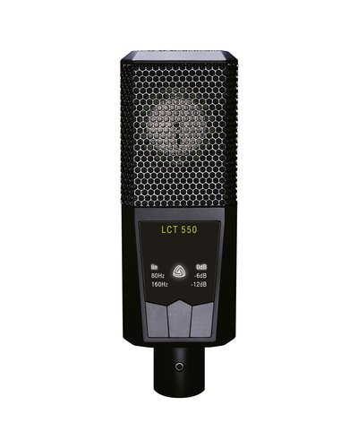 Lewitt LCT 550 Large-Diapragm Condenser Microphone with 0 dB Self-Noise AMS-LCT-550