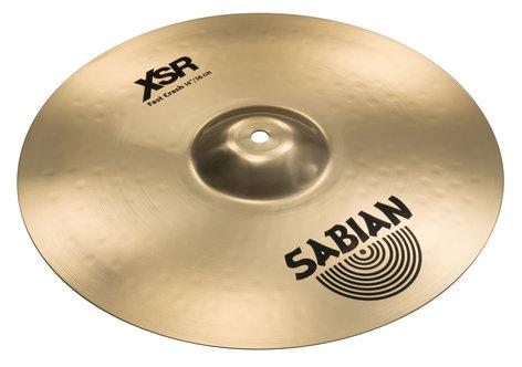"""Sabian 14"""" XSR Hi-Hats Bronze Hi-Hat Cymbals XSR1402B"""