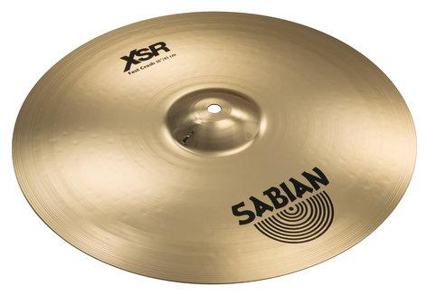 "Sabian 16"" XSR Fast Crash Bronze Crash Cymbals XSR1607B"