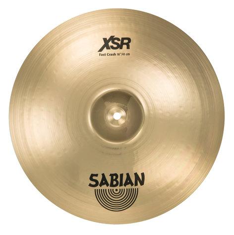 """Sabian XSR1607B 16"""" XSR Fast Crash Bronze Crash Cymbals XSR1607B"""