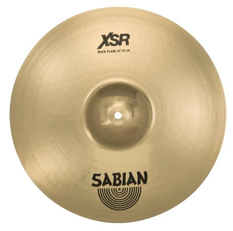 "Sabian 16"" XSR Rock Crash Bronze Crash Cymbals XSR1609B"
