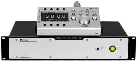 Grace Design m905-BK Reference Monitor Controller with Analog and Digital Inputs, Black M905-BK