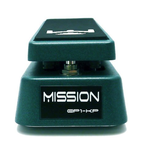 Mission Engineering Inc EP1-KP Expression Pedal for Kemper Profiler, Green EP1-KP-GN