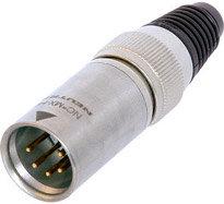 Neutrik NC5MX-HD  5-pin Male XLR Cable Connector, Heavy Duty NC5MX-HD