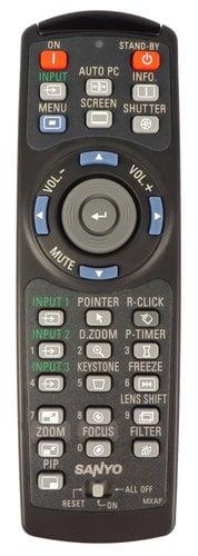 Panasonic 645-103-0191 Remote for PLCWL5500 645-103-0191