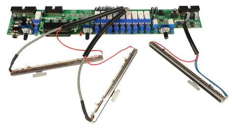 Allen & Heath 003-169X  Master PCB for WZ3 16:2 003-169X