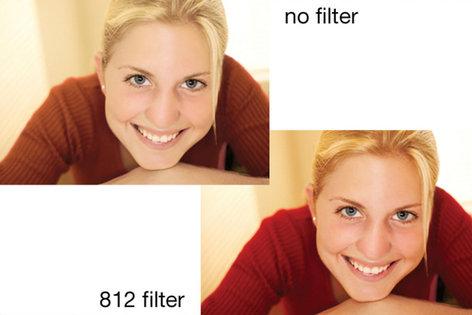 Tiffen 49812  49mm Screw-In 812 Warming Filter 49812