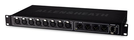 Allen & Heath AR84 8-in/4-out Expander AudioRack for GLD Systems AR-84/BK