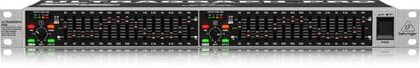 Behringer FBQ1502HD hPro High-Definition 15-Band Stereo Graphic Equalizer FBQ1502HD