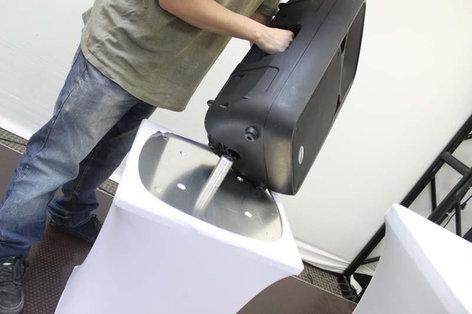 Odyssey SWLCSPKSTUD Scrim Werks Light Column Speaker Stud Adapter SWLCSPKSTUD