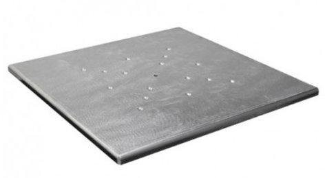 "Odyssey SWLCBP17 17""x17"" Scrim Werks Aluminum Light Column Base Plate SWLCBP17"