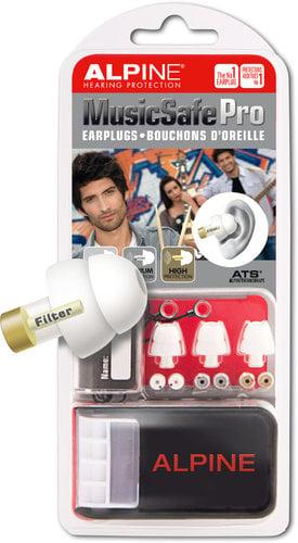 Alpine Hearing Protection MusicSafe Pro Hearing Protection System for Musicians MUSIC-SAFE-PRO