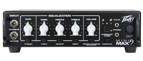Peavey MiniMAX 500W (4 Ohms) Bass Amplifier Head MINIMAX