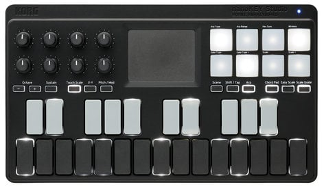 Korg nanoKEY Studio Mobile 25-Key USB MIDI Controller with Bluetooth NANOKEY-STUDIO