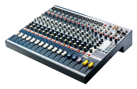 Soundcraft EFX12 12-Channel Mixer with Onboard Lexicon Effects Processor EFX12