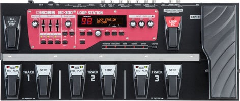 Boss RC-300 Loop Station with 3 Stereo Channels RC300-BOSS