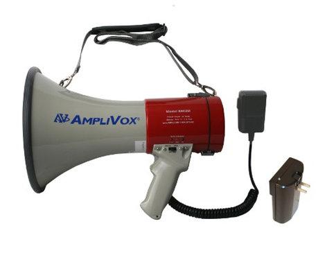 AmpliVox SB602MR  Mity-Meg Plus Rechargeable Megaphone with Battery SB602MR