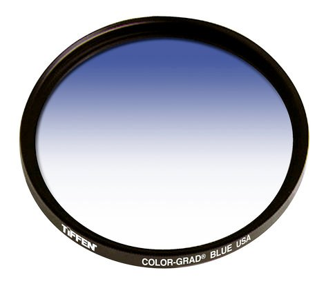 Tiffen 49CGBLUE  49MM Color Grad Blue Filter  49CGBLUE