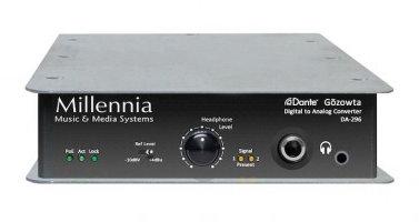 Millennia Media Inc DA-296 Gozowta Dante Digital to Analog Converter DA-296