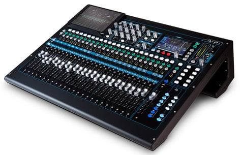 Allen & Heath Qu-24C Qu Series Chrome Edition 30-in/24-out Digital Mixing Console QU-24C