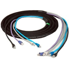 TecNec CES-RJ45-300 4-Channel CAT5e 300 Ft Snake CES-RJ45-300