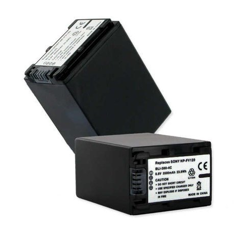 Empire Scientific Sony Battery NP-FV100 6.8V 3500MAH BLI-380-4C