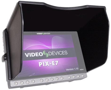 Video Devices PIX-E7 Hood Sun Hood for PIX-E7 PIX-E7-HOOD