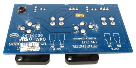 Behringer Q04-23300-06953 Output PCB Assembly for PMP1280S and PMH880S Q04-23300-06953
