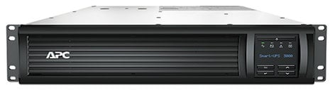 American Power Conversion SMT3000R2X180 APC Smart-Ups 3000VA LCD RM 2U 120V with NMC Installed and Ethernet, USB SMT3000R2X180
