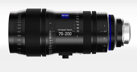 Zeiss Compact Zoom CZ.2 70-200 mm Lens with PL Mount 1984-031