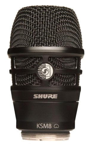 Shure RPW174 KSM8 Capsule in Black for Shure Wireless Handheld Transmitters RPW174