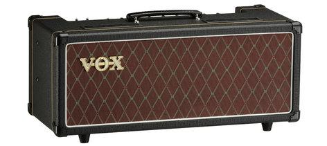 Vox Amplification AC15 Custom Head 15W Custom Series Tube Amplifier Head AC15CH