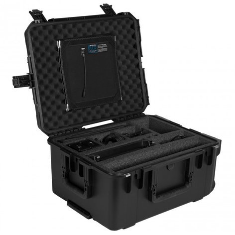 Westcott Flex Wheeled Travel Case Ultra-durable Hard Case 7426
