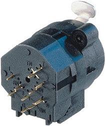 "Neutrik NCJ10FI-V Combo 1/4"" - 3-pin XLR Female Receptacle, Stereo Switching Jack, Vertical PCB Mount NCJ10FI-V"