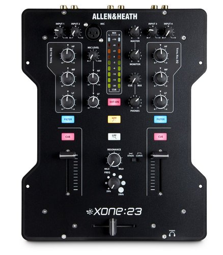 Allen & Heath-Xone Xone:23 DJ Mixer, 2 Channel XONE-23