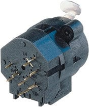 "Neutrik NCJ9FI-V Combo 1/4"" - 3-pin XLR Female Receptacle, Stereo Switching Jack, Vertical PCB Mount NCJ9FI-V"
