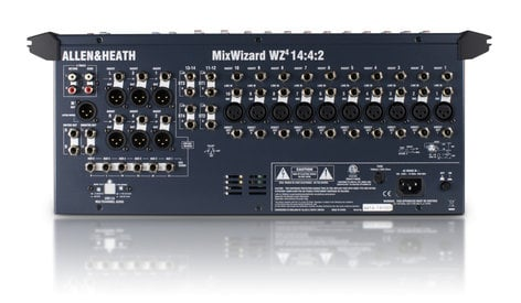 Allen & Heath MixWizard WZ4-14-4 14 Channel Desk and Rack Mountable Mixer WZ4-14-4