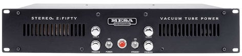 Mesa Boogie STEREO-2-FIFTY 50W 2-Ch Rackmount Guitar Power Amplifier STEREO-2-FIFTY