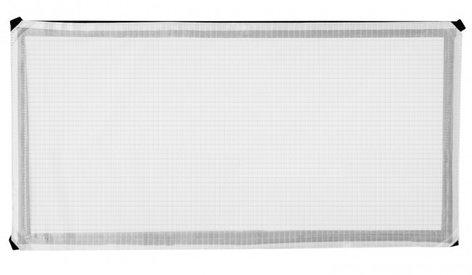Westcott 1911 Scrim Jim® Cine 1 ft x 2 ft 0.5-Stop Grid Cloth Diffuser 1911